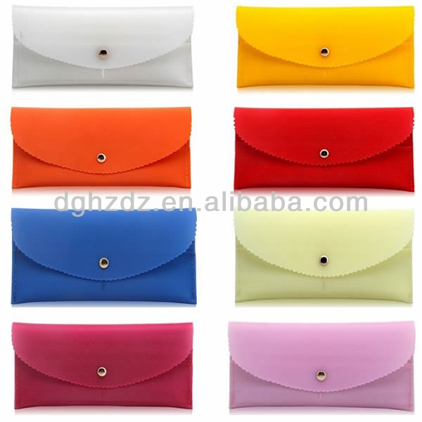 ladies handy bag silicone wallets for women
