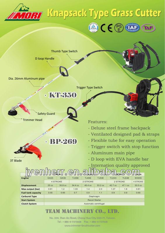 Knapsack Grass Cutter