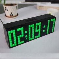 Новизна будильники для детей с blacklight, отображение времени