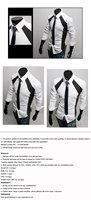 Мужская футболка new style man long sleeve casual cotton shirts