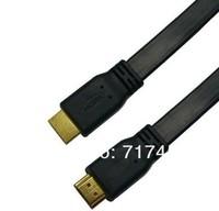 высокая скорость 0,3 м 1.4A плоский кабель hdmi 1.4v 1080 p hd ж / ethernet 3d hdtv 30 см