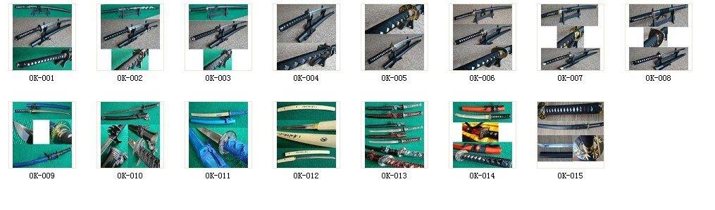 Handmade Kobuse Katana Sword With Clay Tempered Hamon Drop Shipping