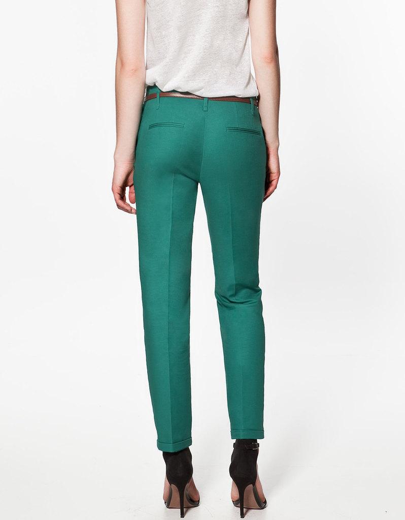 excellent quality, spring&autumn elegnat fashion ladies leisure pant, women trouser with belt