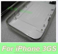 Аксессуары для мобильных телефонов Replacement Housing Back Cover With Metal Frame Pre-assemblied For iPhone 3GS Black / White 16GB/32GB Grade A