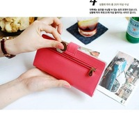 Кошелек Card Coin Long Lady Purse New Women's Clutch Wallet PU Leather Gift Bag In