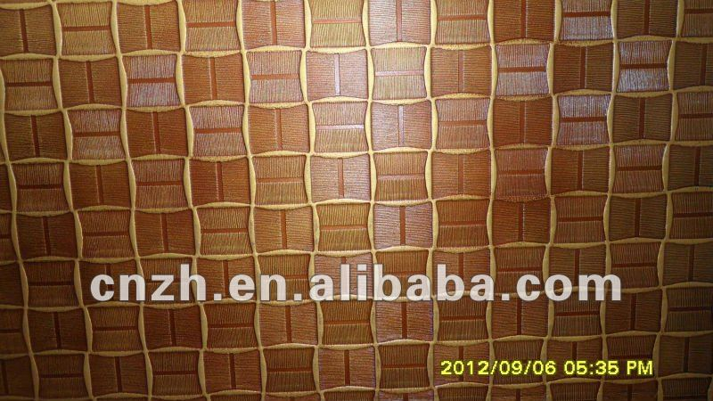 High-end DIY embossed 3D hdf decoration wall panel