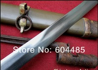 Russian Cossack Shashka Sabre Sword with attached bayonet Wood Sheath