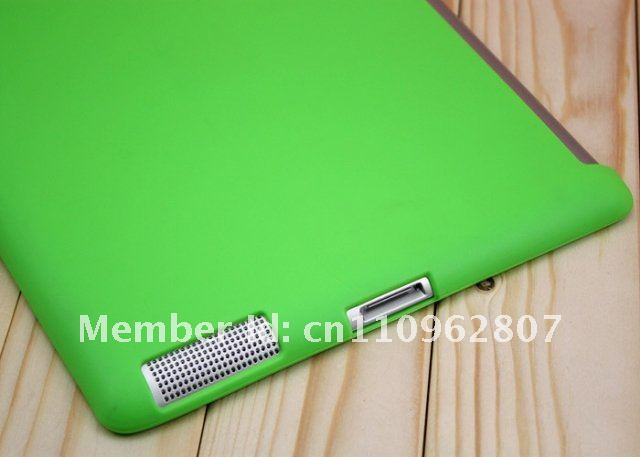 Tpu case for new ipad,SMART COVER soft Tpu case FOR New ipad 3 free shipping