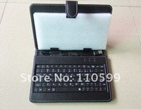 Чехол для планшета Leather Case with Stand+Russian Keyboard for 10 Inch Tablet PC, High quality, Dropship