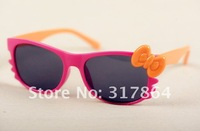 Free shipping,wholesale hello kitty uv400 watch sunglasses for kids