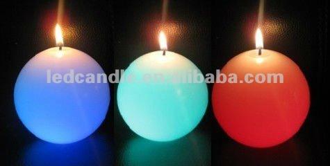 LED flame magic candle