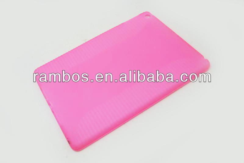 Smart TPU Case Cover Plain Protective TPU Back Cover for iPad 5