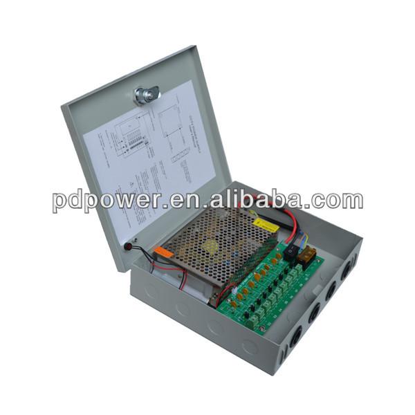 12v 120w power supply 12v multiple output power supply for CCTV camera