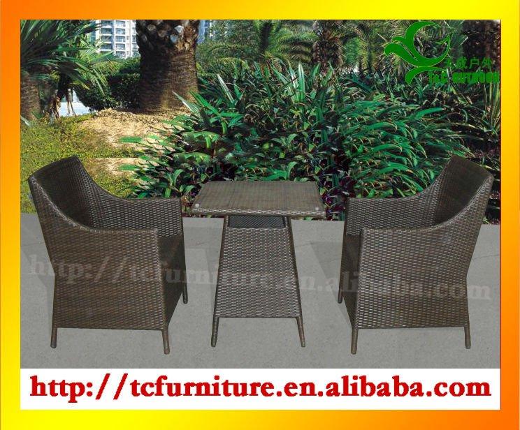 بديعة حديقة للطي طاولة معدنية قابلة للطي