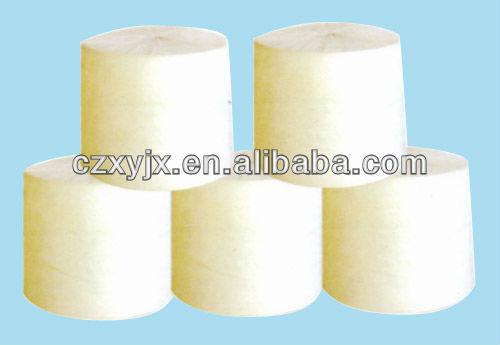 Polyester mat/felt for modified asphalt waterproofing materials