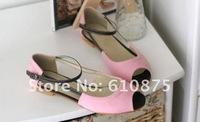 Женские сандалии high quality corduroy Roman ladies sandals soft bottom super comfortable ladies sandals