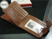 men wallet, zipper & hasp wallet notecase man burse gentleman purse boy moneybag, ID credit card wallet #D826-71