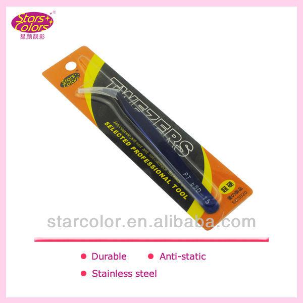 pink tweezers