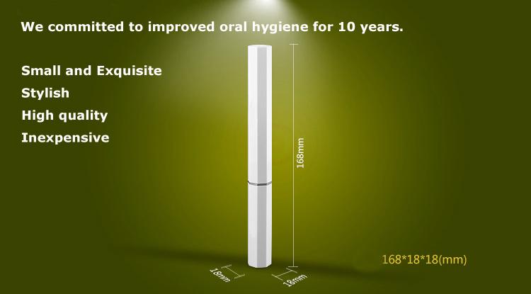 RST2101 beautiful Mini electic toothbrush