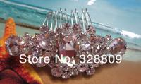 Ювелирное украшение для волос 2013 New style 100% rhinestone fashion bridal hair combs retail