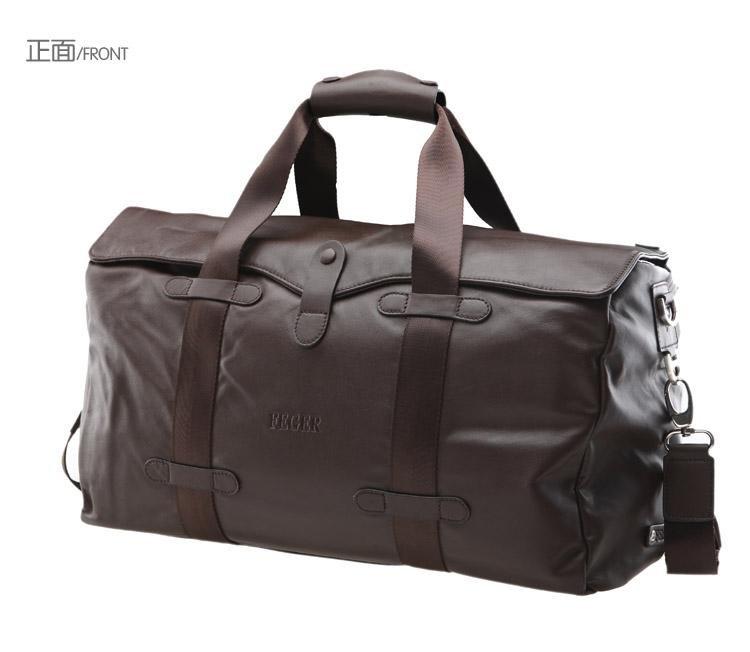 Feger genuine leather man messenger bag / man travel bag ...