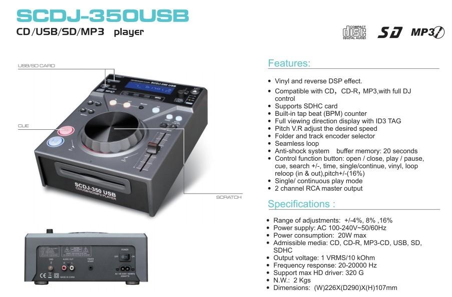 Product: CD-VTTASCAM