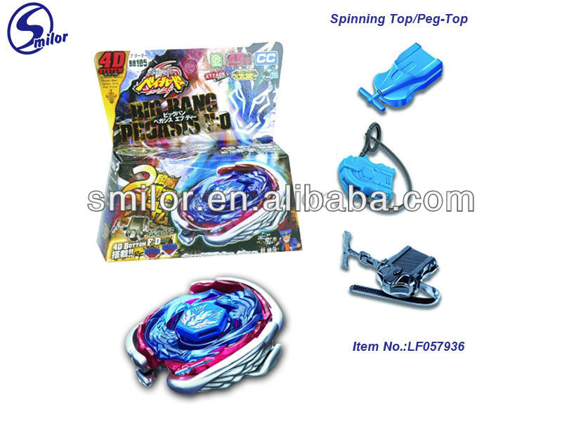 Amazing Children Die-Cast Spinning Top Peg-top Toy