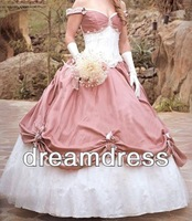 Free shipping stylish with half long sleeve jacket appliques ball gown mother of the bride dresses