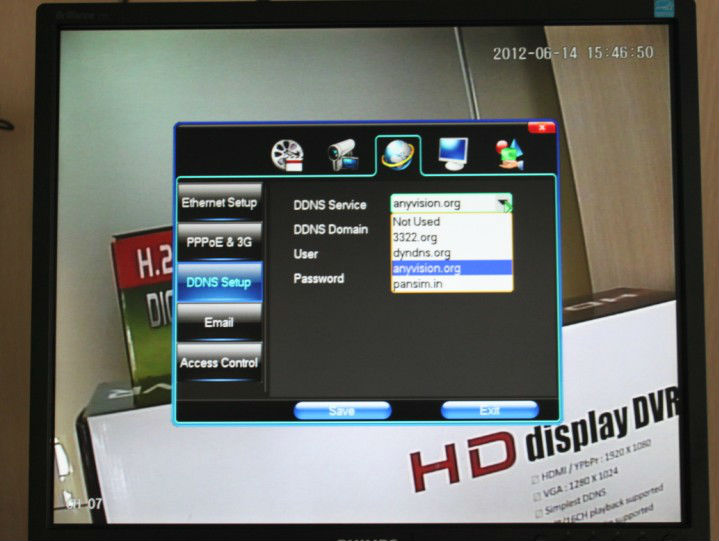 P2P/NAT p2p CCTV DVR 8ch Manufacturer With 3G Mobile View