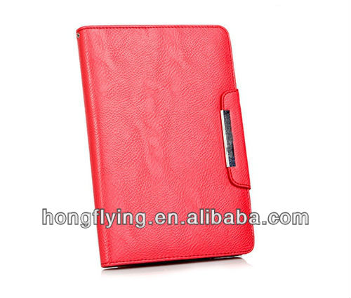 PU Leather Wallet Case for mini iPad