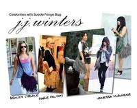Free shipping Women Soft Faux Suede Tassels Hobo Clutch Purse Handbag Shoulder Totes Bag tt002