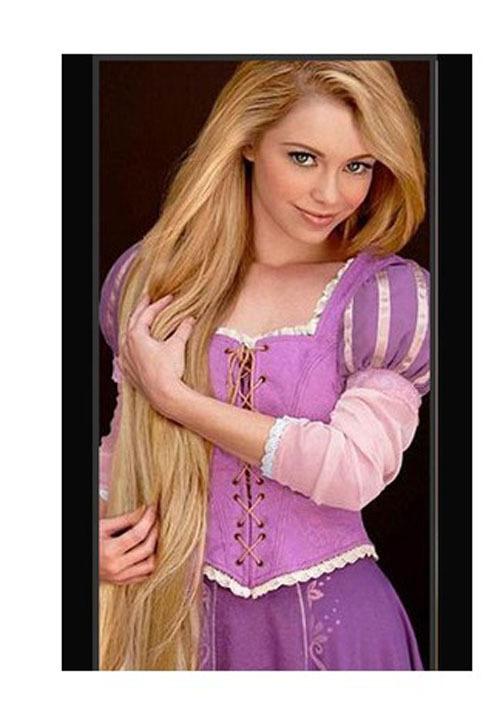 Vestido de rapunzel original - Imagui