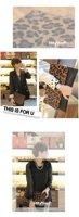 Вечерняя сумка 2012 New style hot selling Spring/ Summer PU Trendy leopard design women clutch bag lady evening bag
