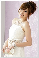 Коктейльное платье New Fashion Dress Up A Beige Cocktail Dress Lace And Retail Size S - XXXL