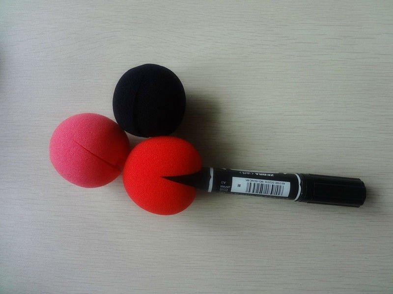 Клоунские носы своими руками 25