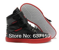 Женские кеды Fashion High Top Skateboarding Shoes Leather Upper Casual Sneakers Justin Biber Style man size:40-46