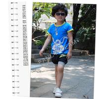 Шорты для мальчиков Kids Casual Elastic Leg Half Trousers with Patchwork for Little Boys Pants, K0113