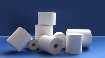 Paper or Plastic Core Thermal Paper