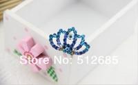 Детский аксессуар для волос Lot New Kids/Girl/Princess/Baby Sweet Rhinestons Crown Hair Combs /Hair Accessories 5- 6colors In a Lot