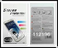 500sets/лот для samsung galaxy s3 i9300 мобильный телефон четкий экран защитник lcd гвардии фильм с розничной упаковке