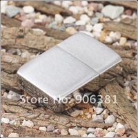 silvery Lighters Smoking Contracted fashion classics Material steel plates Z-30 free shipping