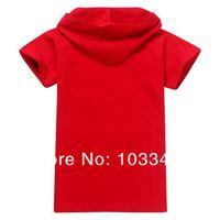 Летние детские толстовки самолеты мультфильм дизайн младенца девочек мальчиков t рубашки Детские Одежда t-shirt дети мальчики тройники t рубашка