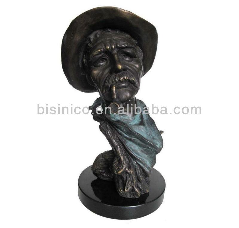 Bronze Reading Girl Statue Sculpture, Home Decorative Art