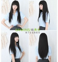 Women Long Straight Onepiece Clip in Hair Extensions Accessories HairpieceJF0013