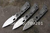 EMS Холстомер Санкт pt-sng-smf стиль дамасская сталь клинка одной стороны титанового сплава + g10 обрабатывать складные ножи