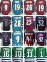 EMS Free shipping ice hockey jerseys 2012 Colorado Avalanche n Hartford Whalers