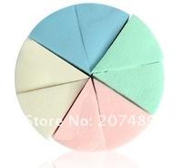 Косметический спонж triangle Professional facial Makeup protection Loose Powder sponge puff anti-biosis Cosmetic 8PC/pack