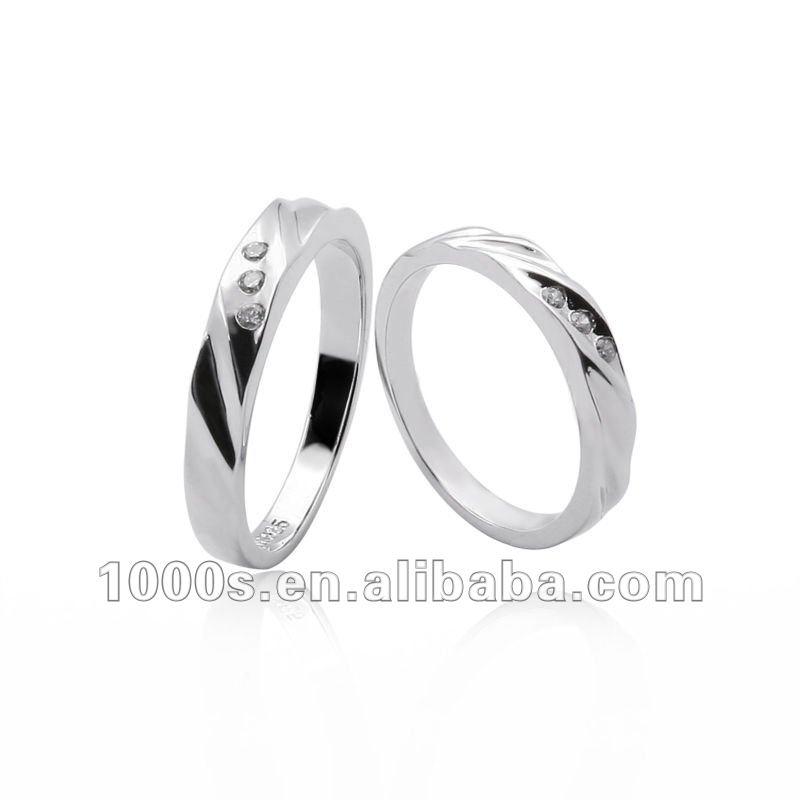 argento anello di fidanzamento-Monili d'argento-Id prodotto ...