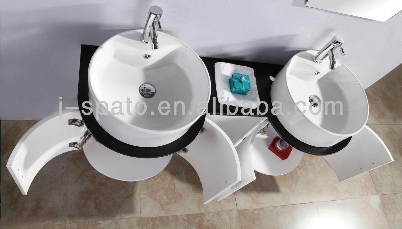 2013 New Design Modern MDF Bathroom Mirror Cabinets JS-B009