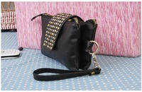 Клатч Hot selling PU Leather fashion designer Rivet bag women wallet Clutch Bag and retail